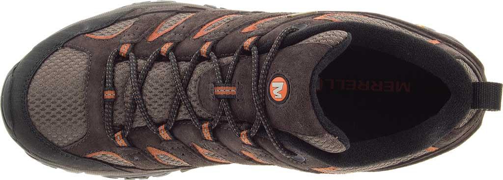 Men's Merrell Moab 2 Waterproof Hiking Shoe, Espresso, large, image 6