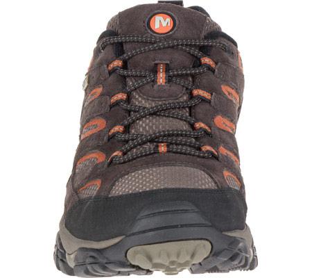 Men's Merrell Moab 2 Waterproof Hiking Shoe, Espresso, large, image 4