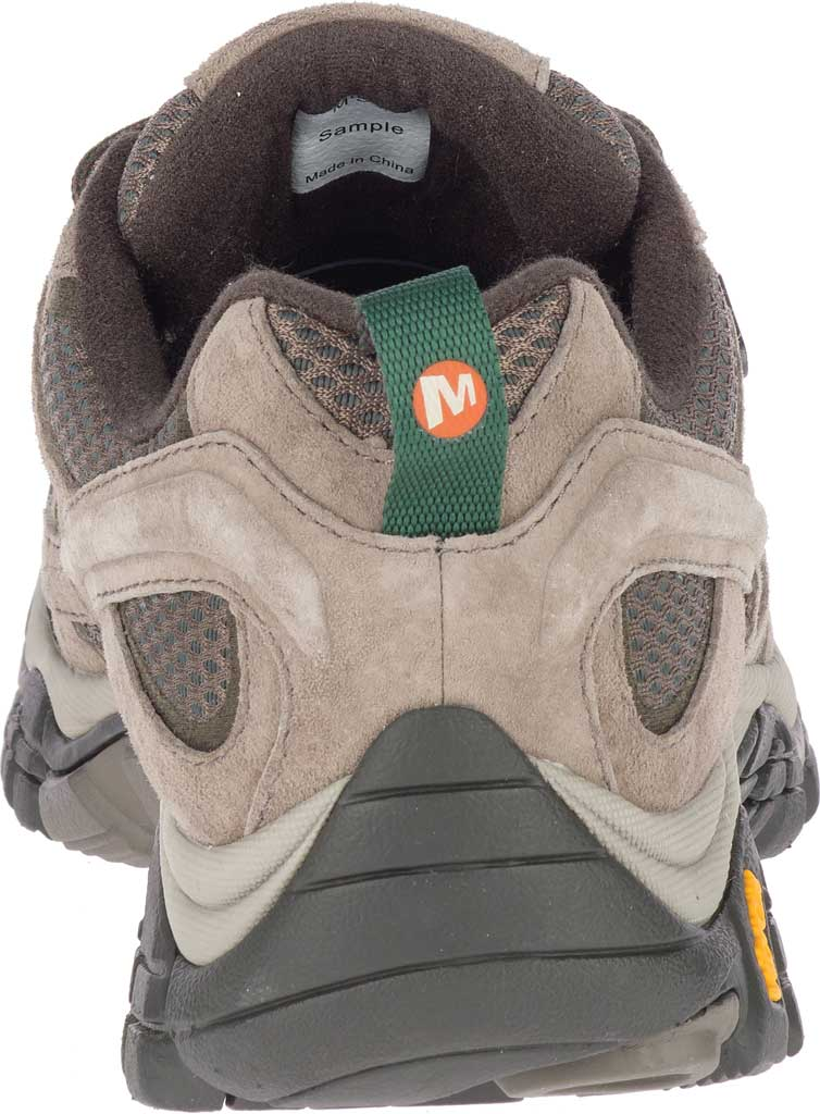 Men's Merrell Moab 2 Waterproof Hiking Shoe, Boulder Pigskin Leather/Mesh, large, image 4