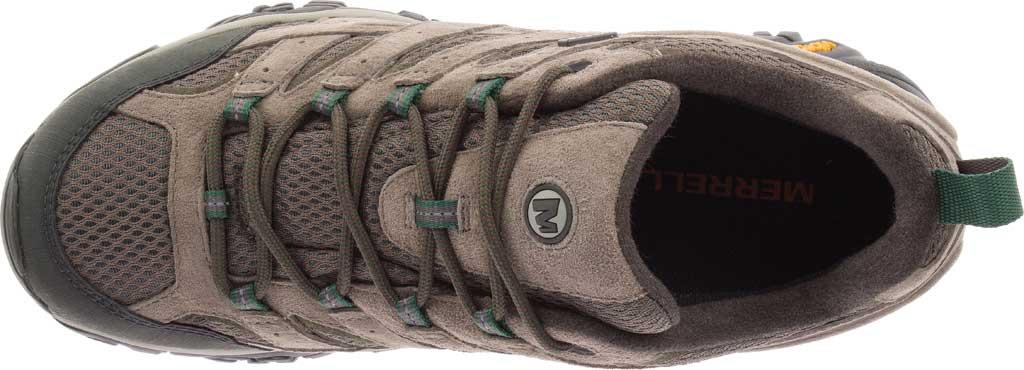 Men's Merrell Moab 2 Waterproof Hiking Shoe, Boulder Pigskin Leather/Mesh, large, image 5