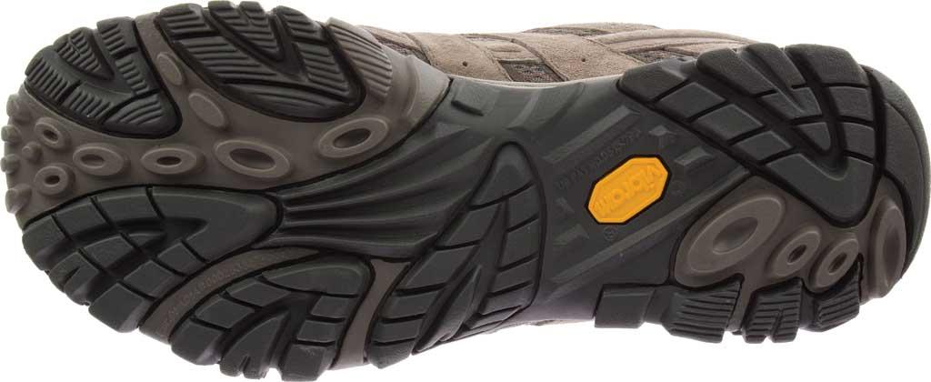 Men's Merrell Moab 2 Waterproof Hiking Shoe, Boulder Pigskin Leather/Mesh, large, image 6