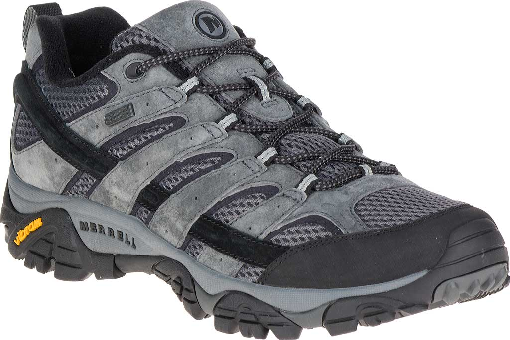 Men's Merrell Moab 2 Waterproof Hiking Shoe, Granite, large, image 1