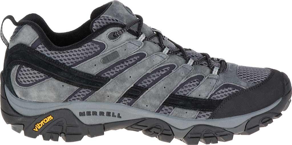 Men's Merrell Moab 2 Waterproof Hiking Shoe, Granite, large, image 2