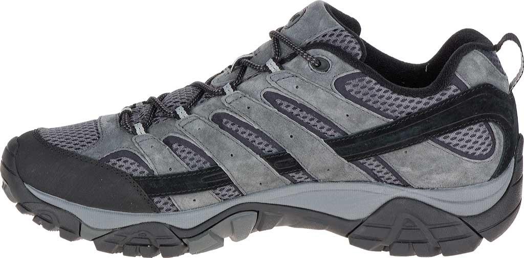 Men's Merrell Moab 2 Waterproof Hiking Shoe, Granite, large, image 3