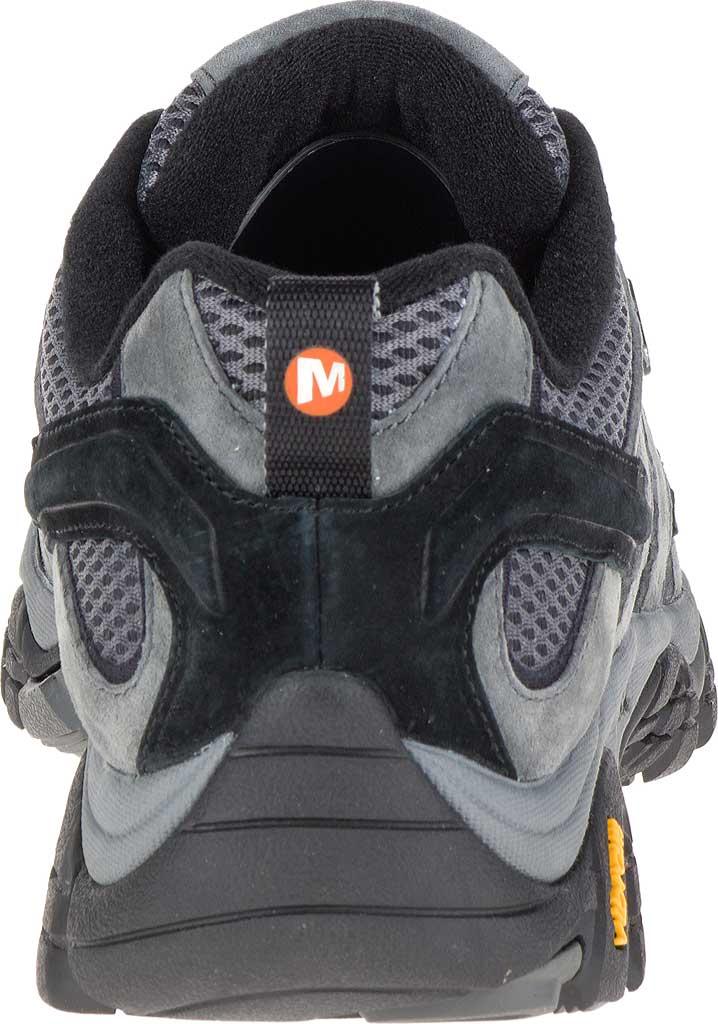 Men's Merrell Moab 2 Waterproof Hiking Shoe, Granite, large, image 4