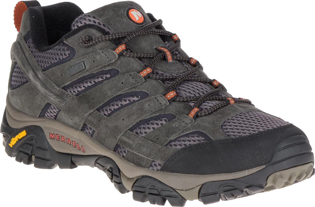 Men's Merrell Moab 2 Waterproof Hiking Shoe, Beluga, large, image 1