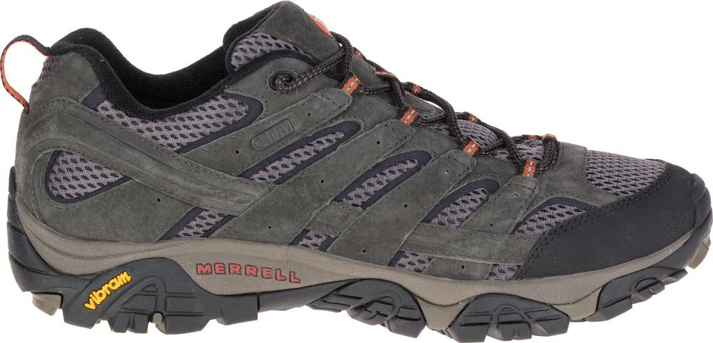 Men's Merrell Moab 2 Waterproof Hiking Shoe, Beluga, large, image 2