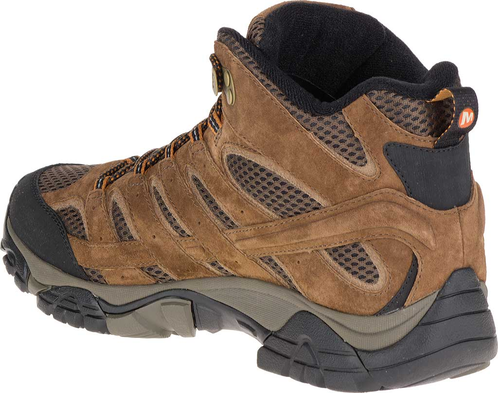 Men's Merrell Moab 2 Mid Waterproof Hiking Boot, Earth, large, image 5