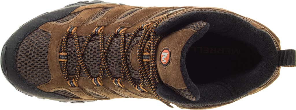 Men's Merrell Moab 2 Mid Waterproof Hiking Boot, Earth, large, image 6