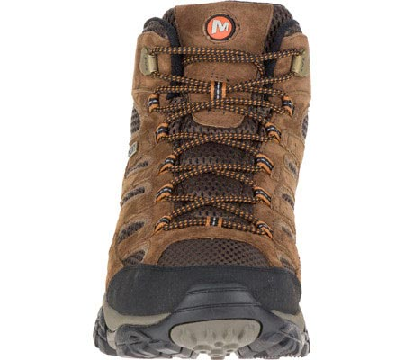 Men's Merrell Moab 2 Mid Waterproof Hiking Boot, Earth, large, image 4