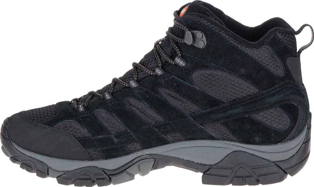 Men's Merrell Moab 2 Vent Mid Hiking Shoe, Black Night, large, image 3