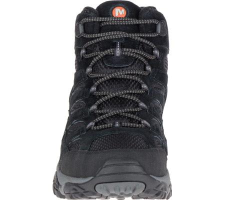 Men's Merrell Moab 2 Vent Mid Hiking Shoe, Black Night, large, image 4