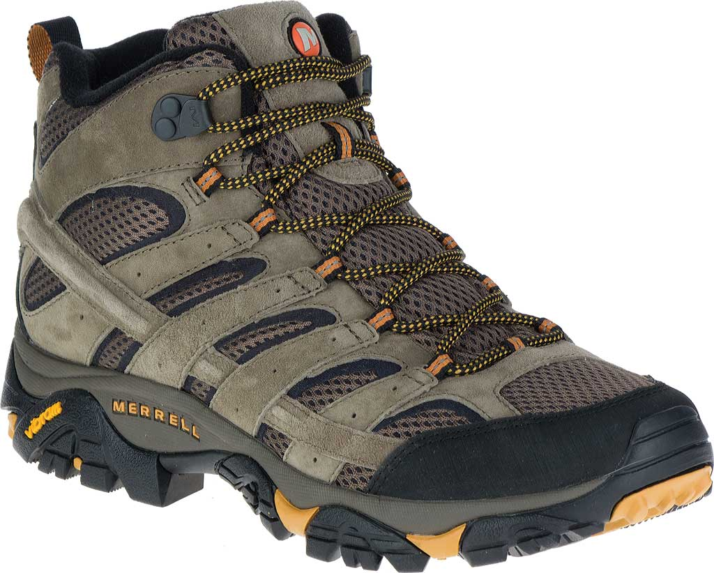 Men's Merrell Moab 2 Vent Mid Hiking Shoe, Walnut, large, image 1