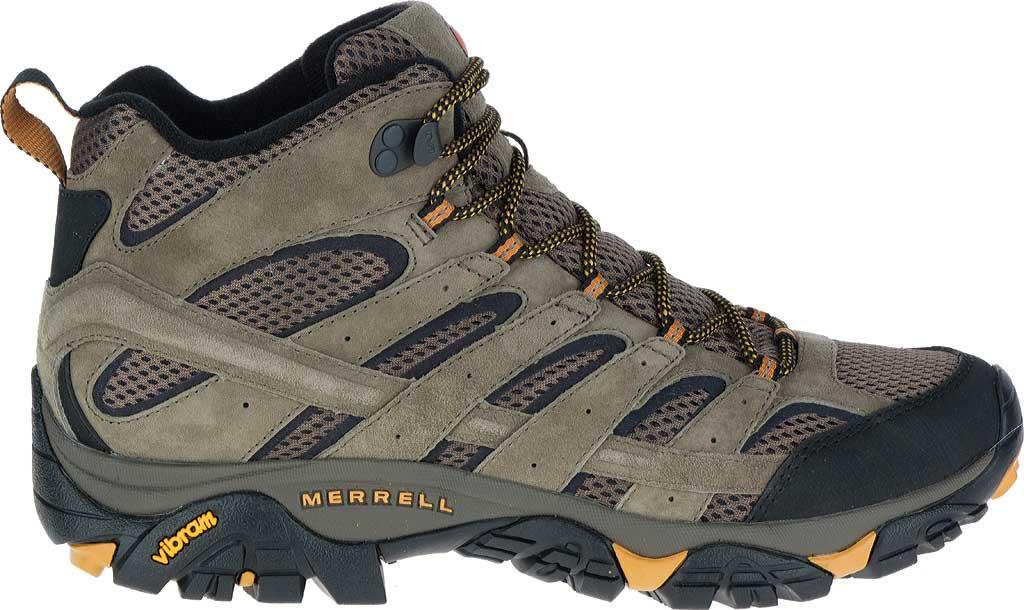 Men's Merrell Moab 2 Vent Mid Hiking Shoe, Walnut, large, image 2
