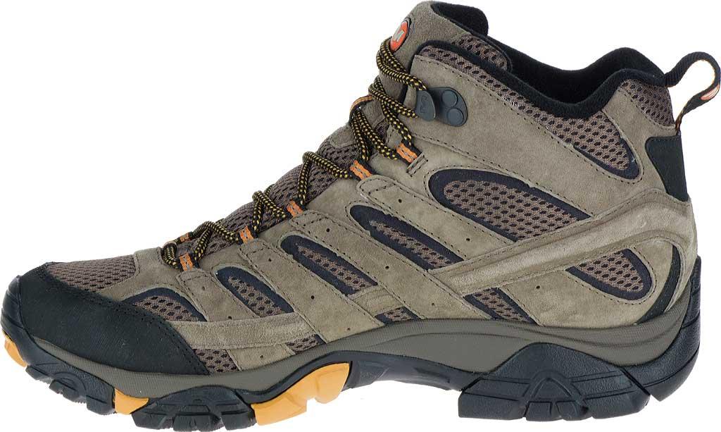 Men's Merrell Moab 2 Vent Mid Hiking Shoe, Walnut, large, image 3