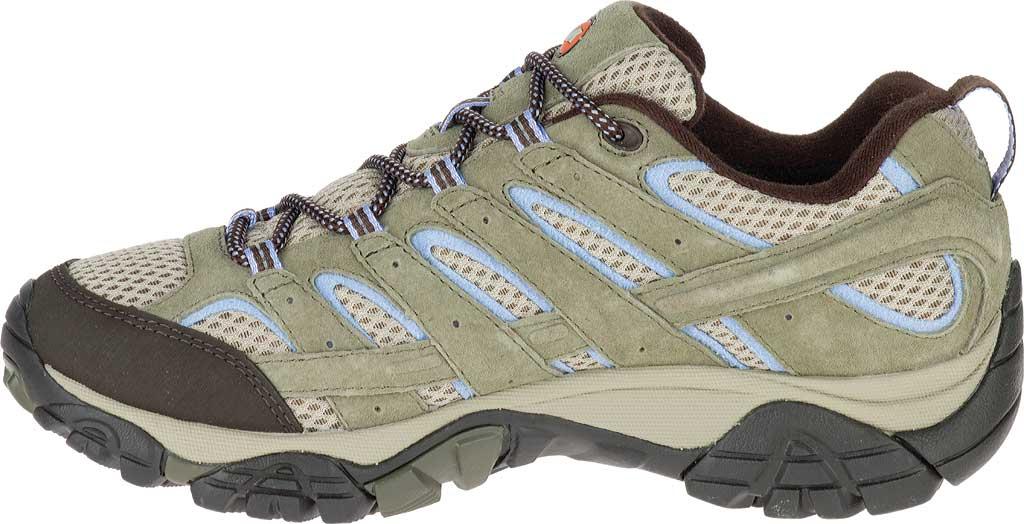 Women's Merrell Moab 2 Waterproof Hiking Shoe, Dusty Olive, large, image 3