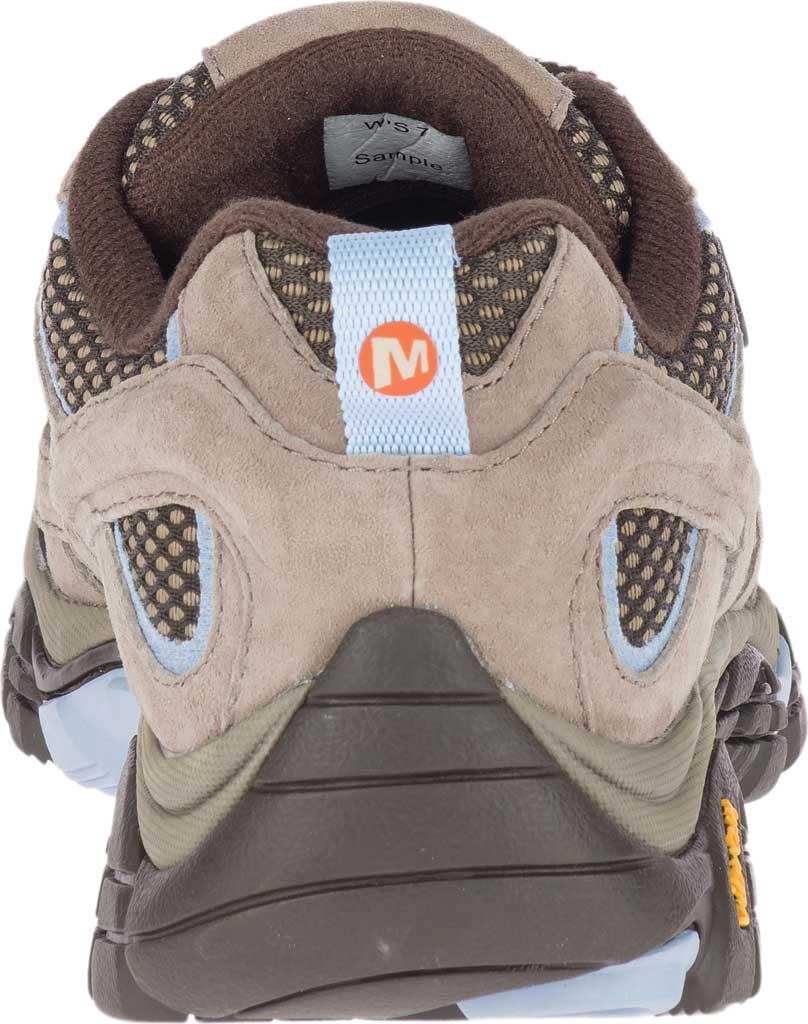 Women's Merrell Moab 2 Waterproof Hiking Shoe, Brindle Pigskin Leather/Mesh, large, image 4