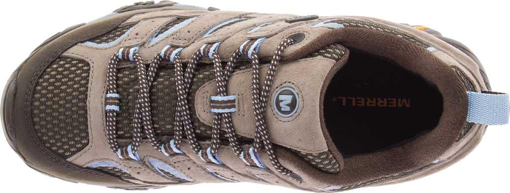 Women's Merrell Moab 2 Waterproof Hiking Shoe, Brindle Pigskin Leather/Mesh, large, image 5
