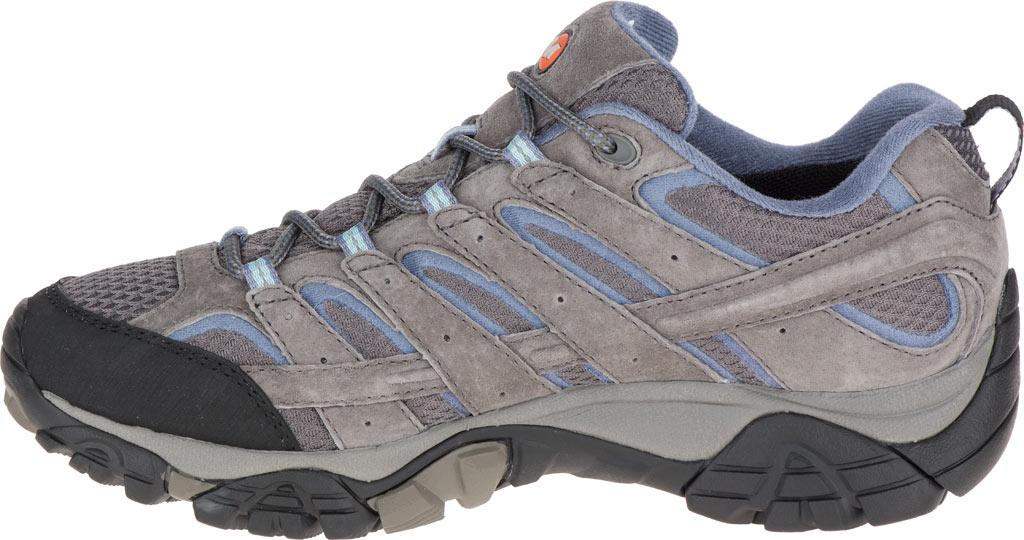 Women's Merrell Moab 2 Waterproof Hiking Shoe, Granite, large, image 3