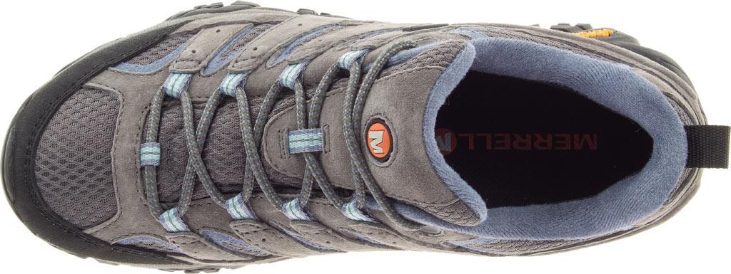 Women's Merrell Moab 2 Waterproof Hiking Shoe, Granite, large, image 6