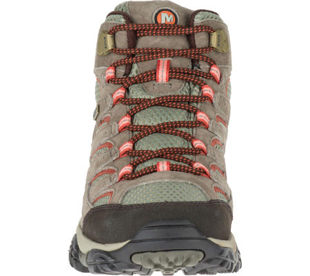 Women's Merrell Moab 2 Mid Waterproof Hiking Boot, Bungee Cord, large, image 4