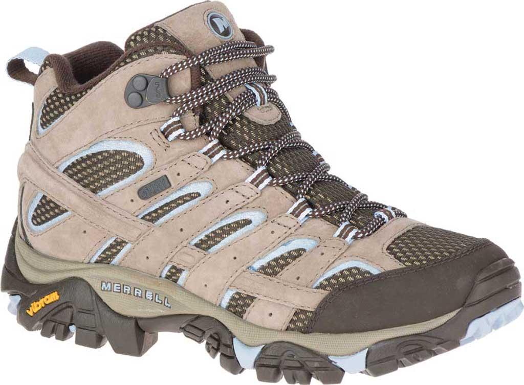 Women's Merrell Moab 2 Mid Waterproof Hiking Boot, , large, image 1