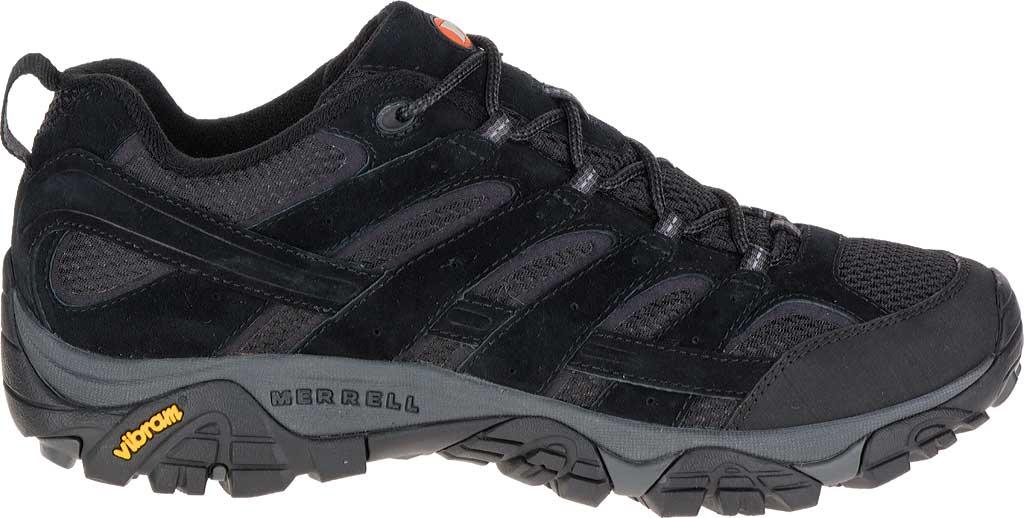 Men's Merrell Moab 2 Vent Hiking Shoe, Black Night, large, image 2