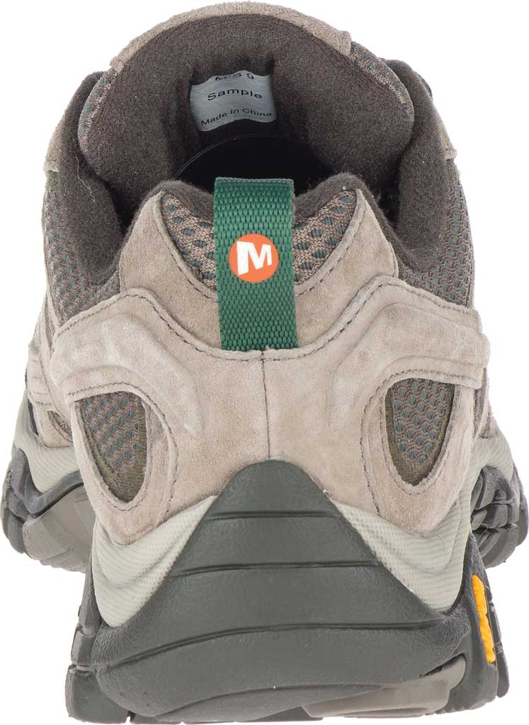 Men's Merrell Moab 2 Vent Hiking Shoe, Boulder Pigskin Leather/Mesh, large, image 4