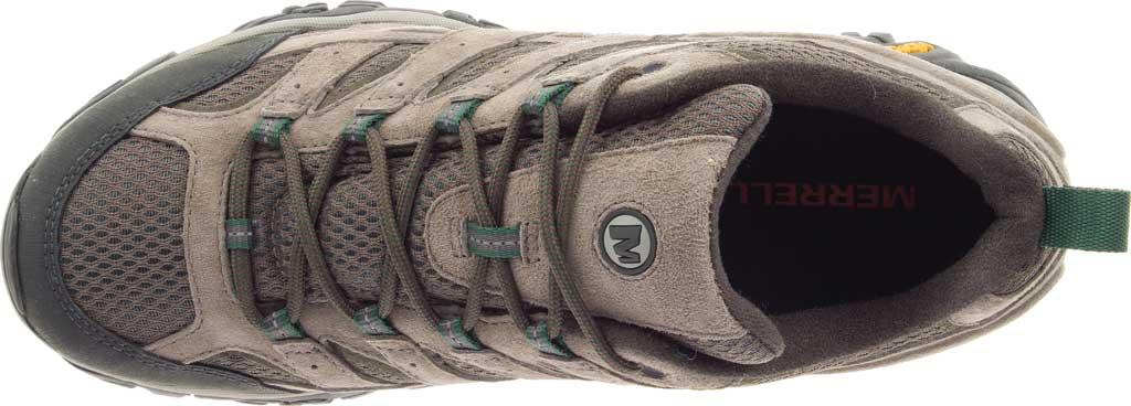 Men's Merrell Moab 2 Vent Hiking Shoe, Boulder Pigskin Leather/Mesh, large, image 5
