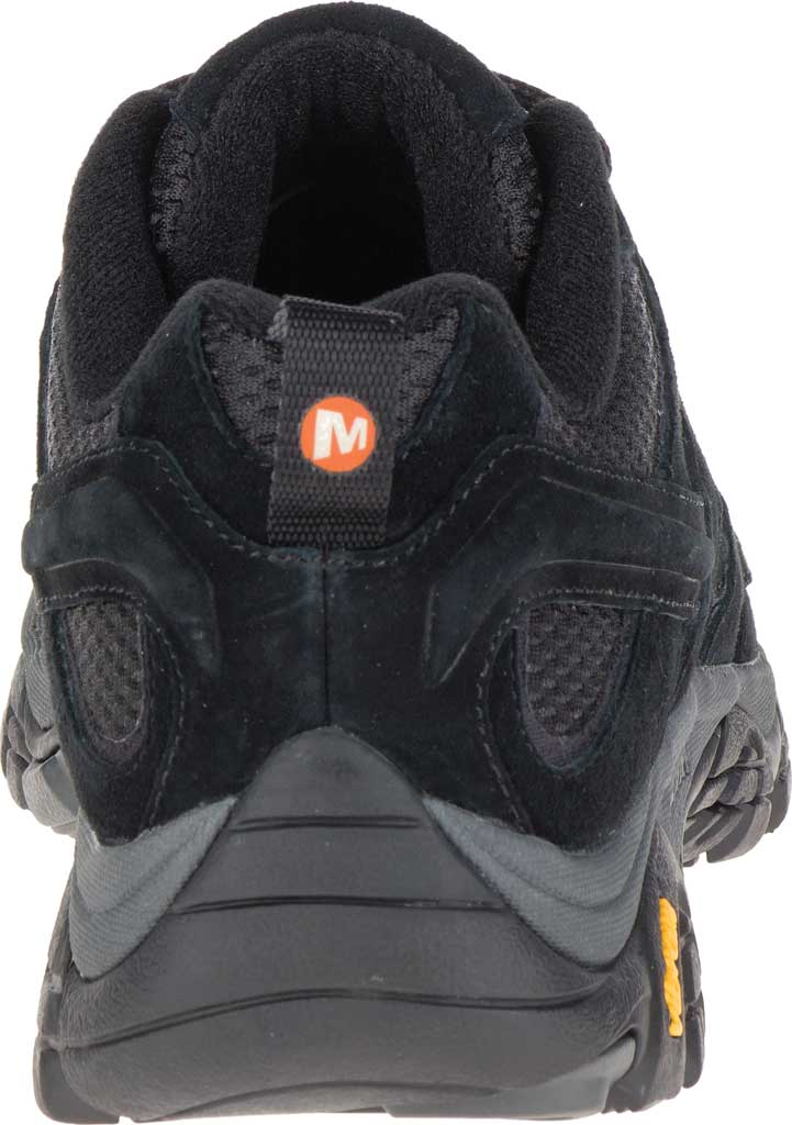 Men's Merrell Moab 2 Vent Hiking Shoe, Black Night Pigskin Leather/Mesh, large, image 4