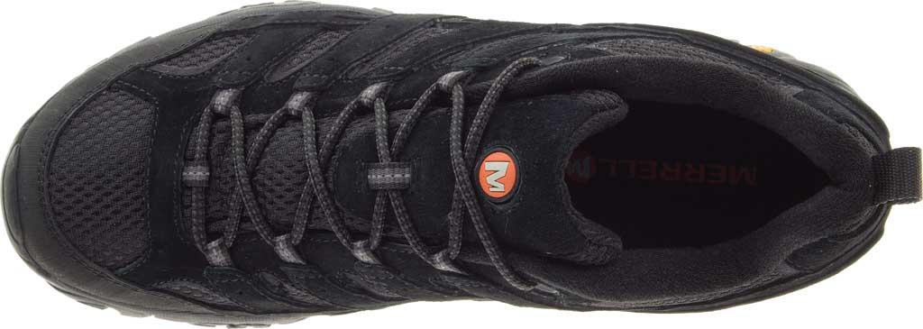 Men's Merrell Moab 2 Vent Hiking Shoe, Black Night Pigskin Leather/Mesh, large, image 5