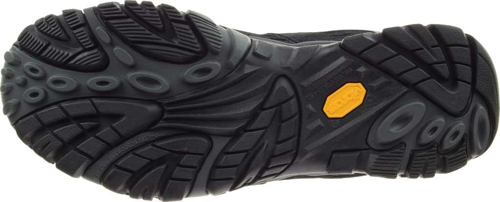 Men's Merrell Moab 2 Vent Hiking Shoe, Black Night Pigskin Leather/Mesh, large, image 6