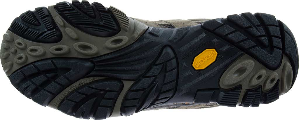 Men's Merrell Moab 2 Vent Hiking Shoe, Black Night Pigskin Leather/Mesh, large, image 7