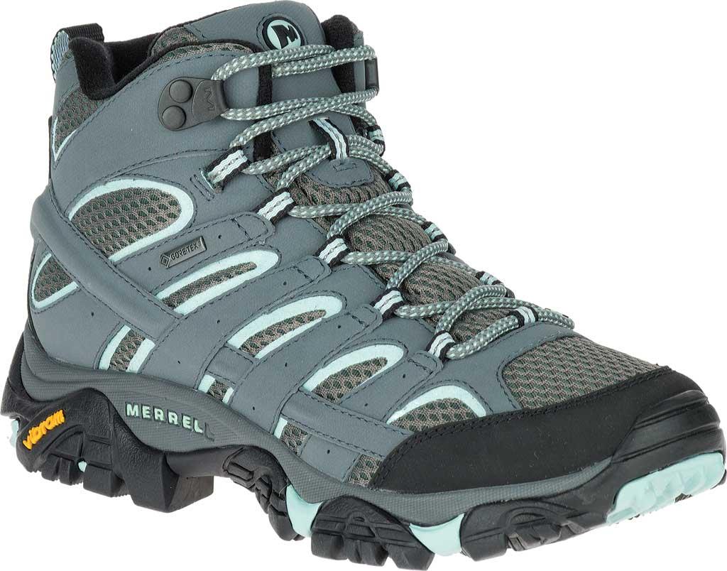 Women's Merrell Moab 2 Mid GORE-TEX Hiking Boot, Sedona Sage, large, image 1