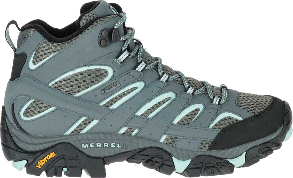 Women's Merrell Moab 2 Mid GORE-TEX Hiking Boot, Sedona Sage, large, image 2