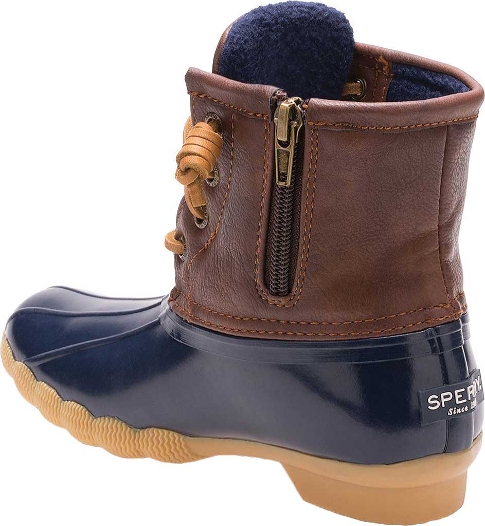 Infant Girls' Sperry Top-Sider Saltwater Duck Boot, Navy, large, image 3