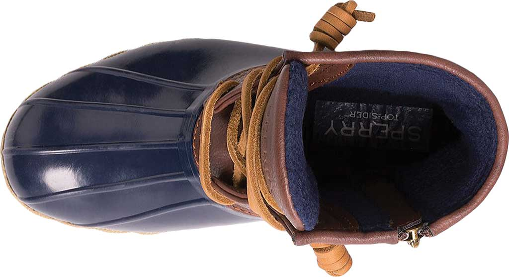 Infant Girls' Sperry Top-Sider Saltwater Duck Boot, Navy, large, image 4