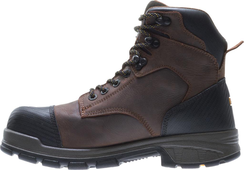 """Men's Wolverine Blade LX EPX Waterproof Met 6"""" CarbonMax Toe Boot, Dark Brown Full Grain Leather, large, image 3"""