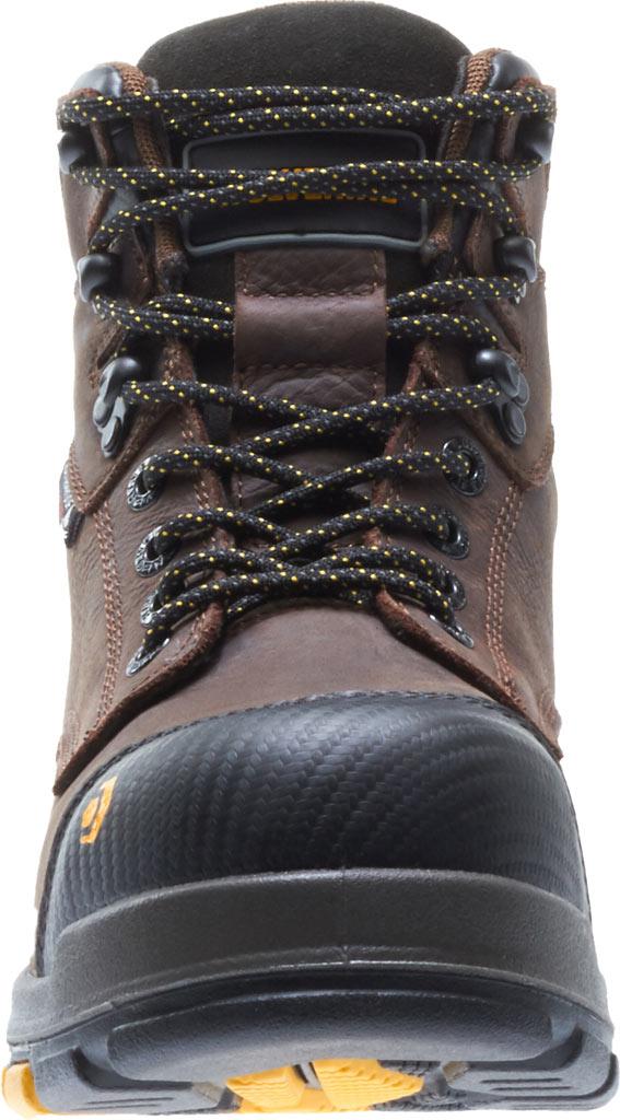 """Men's Wolverine Blade LX EPX Waterproof Met 6"""" CarbonMax Toe Boot, Dark Brown Full Grain Leather, large, image 4"""