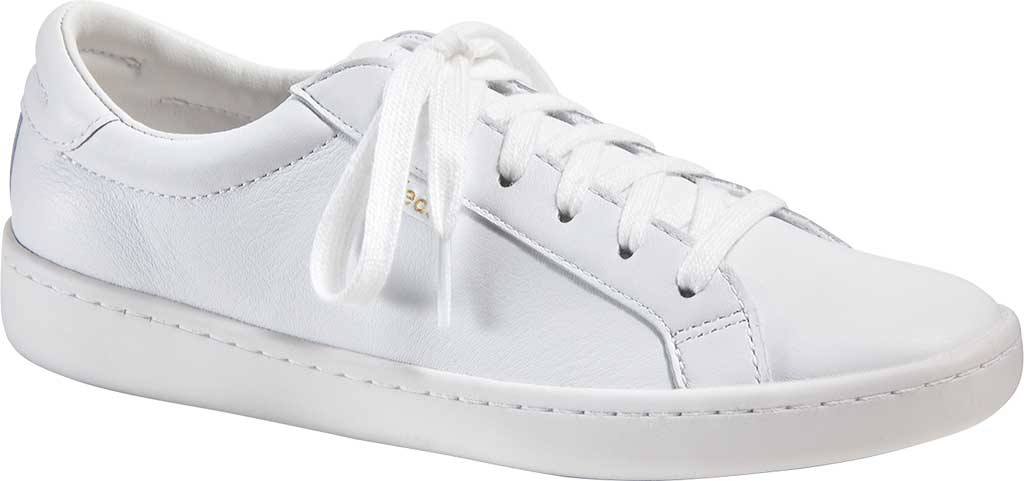 Women's Keds Ace Leather Sneaker, White/White Leather, large, image 1