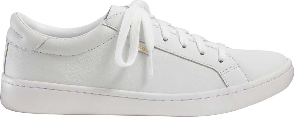 Women's Keds Ace Leather Sneaker, White/White Leather, large, image 2