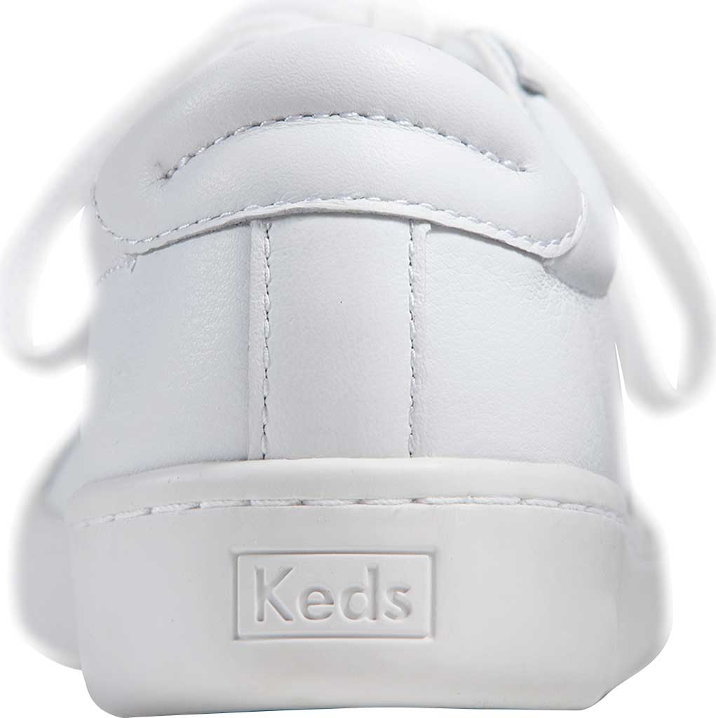 Women's Keds Ace Leather Sneaker, White/White Leather, large, image 3