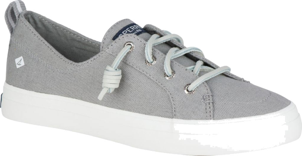 Women's Sperry Top-Sider Crest Vibe Sneaker, Grey Linen Canvas, large, image 1