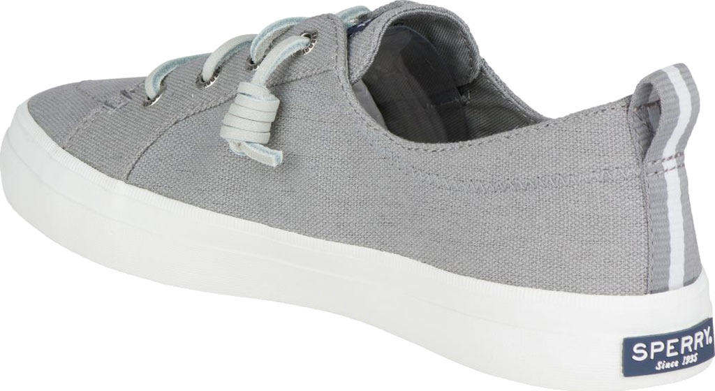 Women's Sperry Top-Sider Crest Vibe Sneaker, Grey Linen Canvas, large, image 4