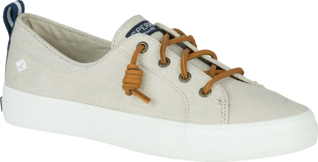 Women's Sperry Top-Sider Crest Vibe Sneaker, Linen/Oat Linen Canvas, large, image 1