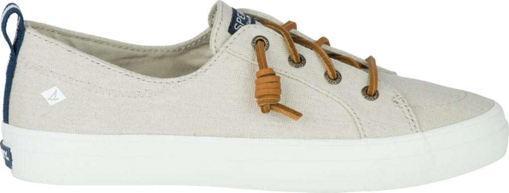 Women's Sperry Top-Sider Crest Vibe Sneaker, Linen/Oat Linen Canvas, large, image 2