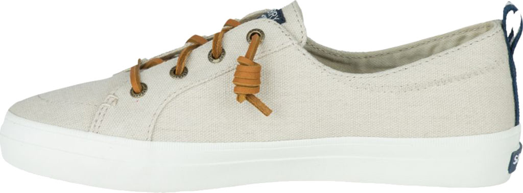 Women's Sperry Top-Sider Crest Vibe Sneaker, Linen/Oat Linen Canvas, large, image 3