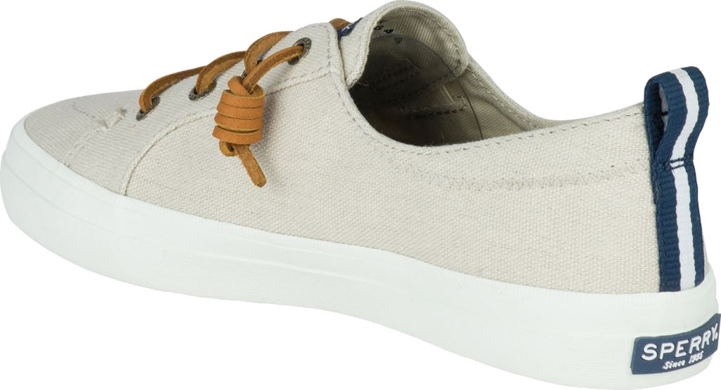 Women's Sperry Top-Sider Crest Vibe Sneaker, Linen/Oat Linen Canvas, large, image 4