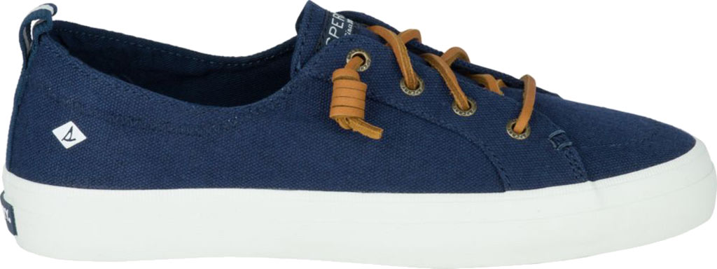 Women's Sperry Top-Sider Crest Vibe Sneaker, Navy Linen Canvas, large, image 2