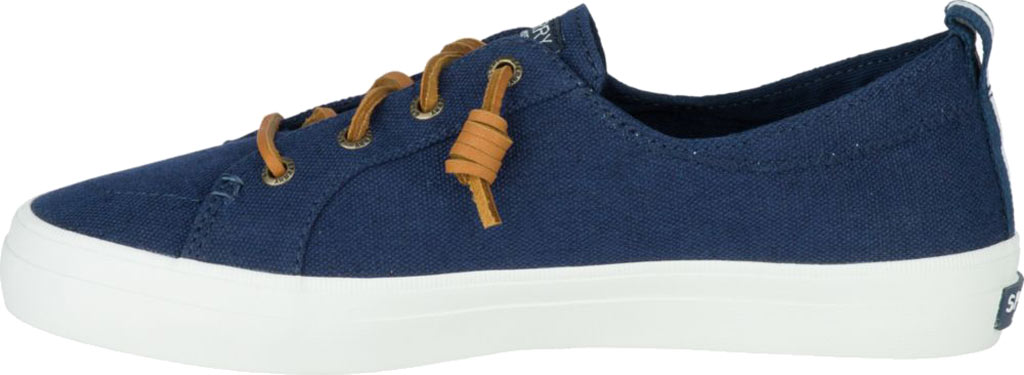 Women's Sperry Top-Sider Crest Vibe Sneaker, Navy Linen Canvas, large, image 3